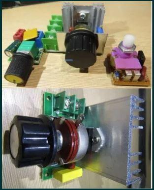 Диммер регулятор напряжения мощности 2000вт 4000 220в AC/DC 12в
