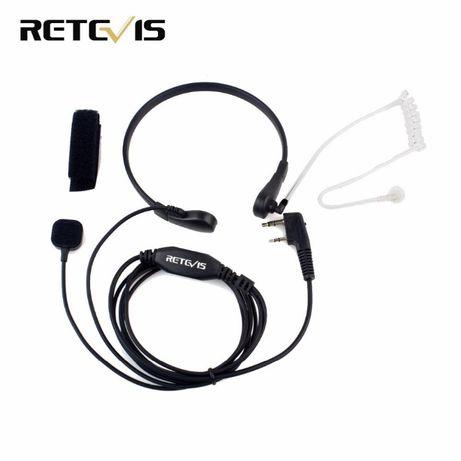 Retevis mikrofon Słuchawka dla Kenwood UV-5R BF-888S H777 RT3 RT-5R
