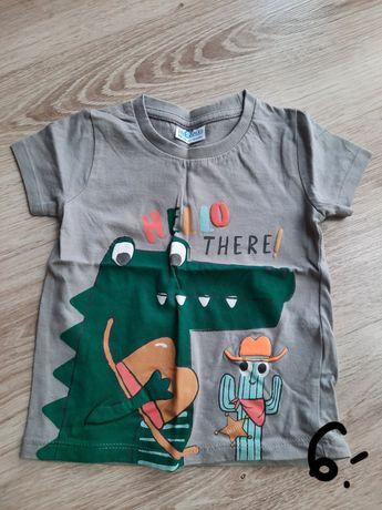 t-shirt chłopiec roz. 86 nowy