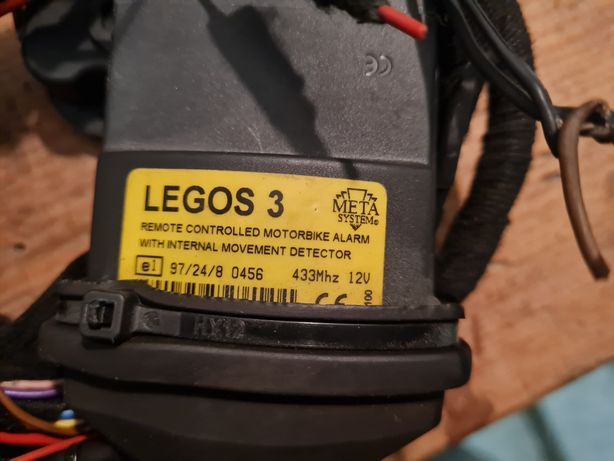 Alarm motocyklowy Legos 3