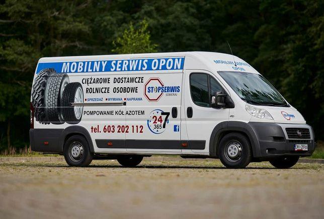 Mobilny Serwis Opon 24H/ Mobilna Wulkanizacja