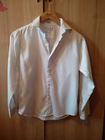 Рубашка белая Calvin Klein на мальчика Школьная форма