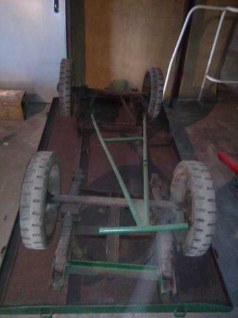 Przyczepa platforma do wózka widłowego, elektrycznego WNA