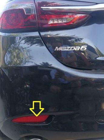 Odblask zderzaka Mazda 6 sedan 2019
