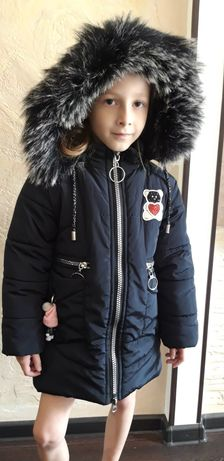 Куртка зима.Пальто зимнее. Для девочки