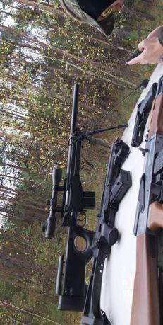 Karabin ASG AI AW308 Sniper Black