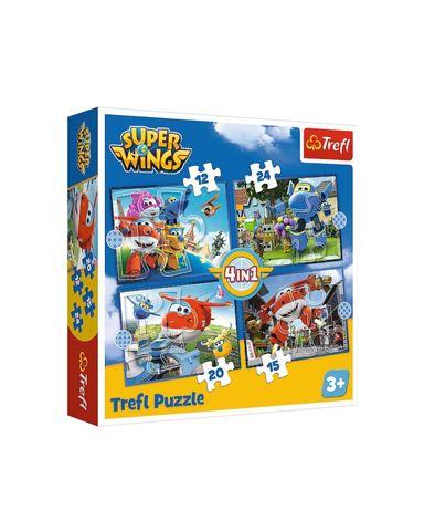 Puzzle Trefl Super Wings Nowe 4 plansze