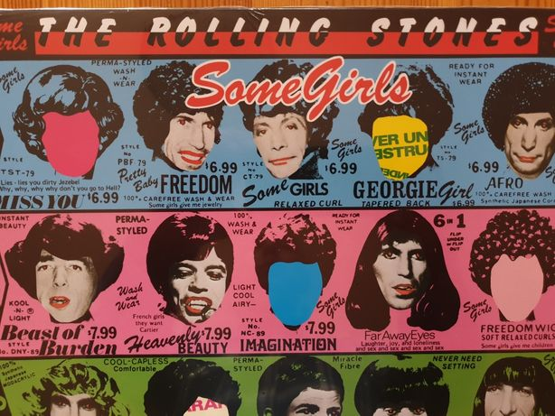 The Rolling Stones- Big Hits, Some Girls 2Lp.
