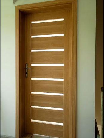 Drzwi z Nakładką Maskującą Stare Metalowe i Drewniane Futryny NOWOŚĆ !