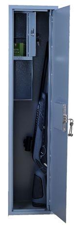 Мисливський сейф (сейф для оружия), 1м30 см, 27 кг, на 2 одиниці