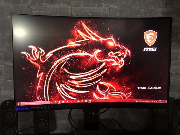 Monitor gamingowy MSI Optix MAG271CR zakrzywiony ekran RGB