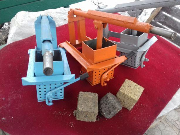 Пресса для изготовления топливных брикетов