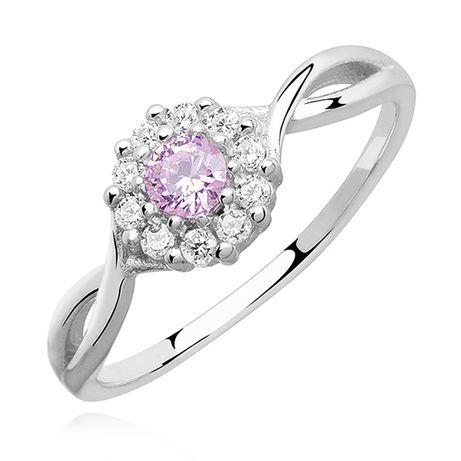 Nowy pierścionek srebro próba 925