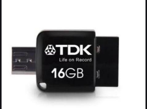 TDK 2 in 1 Mini 16GB - Pendrive / Memória USB