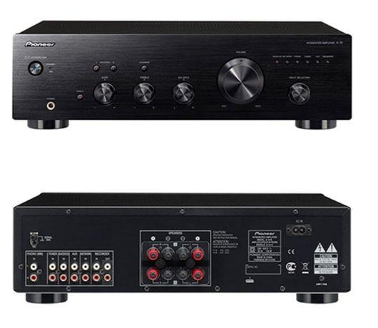 Wzmacniacz stereo Pioneer + odtwarzacz DVD Blu Ray