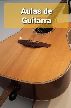 Aulas de Guitarra on-line ou presencial (Formação particular)