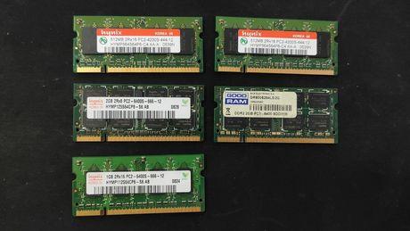 Оперативна пам'ять DDR2 для ноутбука