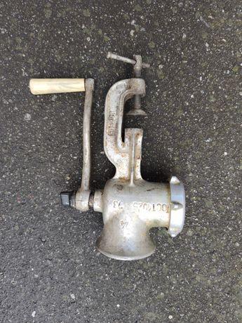 М'ясорубка механічна ссср металева ручна ручная механическая мясорубка