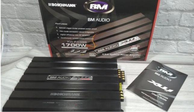 Усилитель звука авто 4х канальный Boschman BM