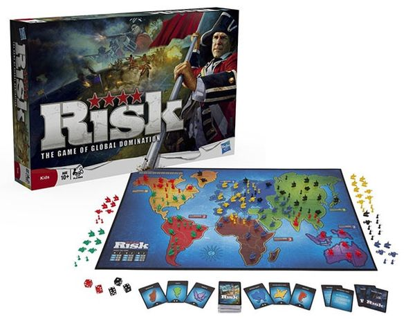 Risk - jogo tabuleiro