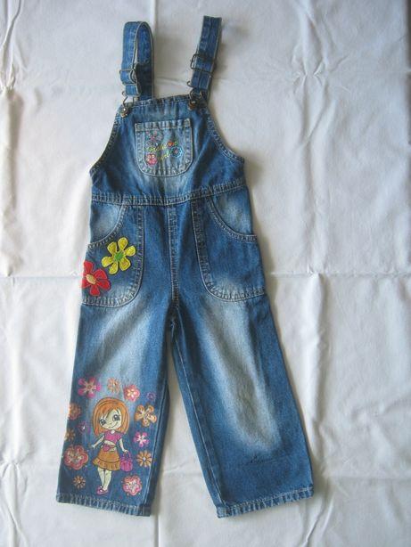 джинсовая одежда на 3-4 года