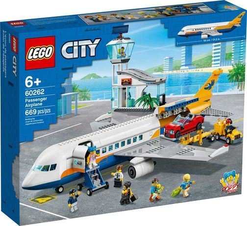 Klocki Lego City 60282 Samolot pasażerski. Nowe.