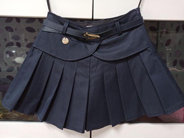 Юбка шорты школьные Стефани Suzie для девочки 9-10 лет 140 размер