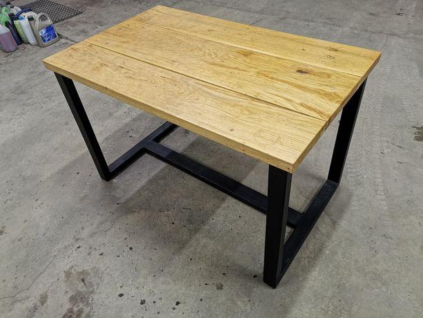 Stół industrialny loft lite drewno
