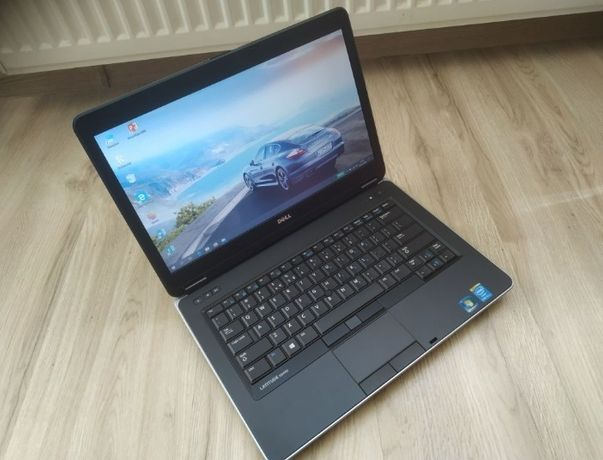 Jak Nowy! Laptop Dell Latitude E6440 i5 240GB 8GB W10 NOWA BATERIA 4H