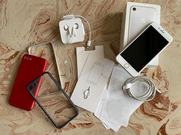 Iphone 7 - pełny zestaw - nieuszkodzony