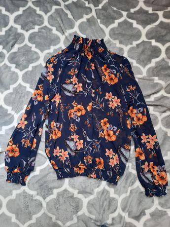 Nowa bluzka Pieces, rozmiar XS w kwiatki