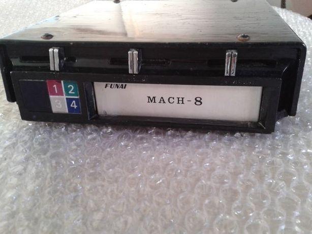 Leitor cassetes cartuchos auto vintage