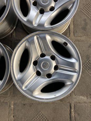 Диски R16 6/139,7 оригинал Toyota 7j Et15 в хорошем состояние!