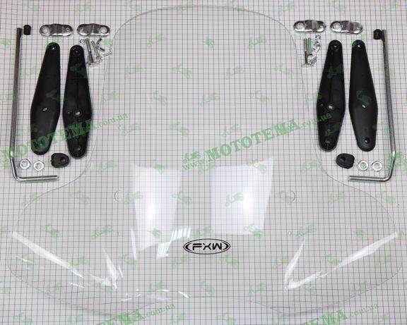 Ветровое стекло (обтекатель) для мотоцикла, мопеда, скутера HF-0605