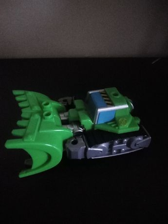 TRANSFORMERS roboto - samochód Koparka