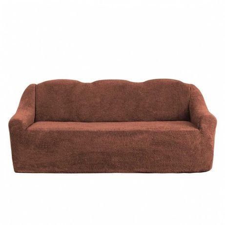 Чехол на диван меховый плюшевый ADMIRAL Турция