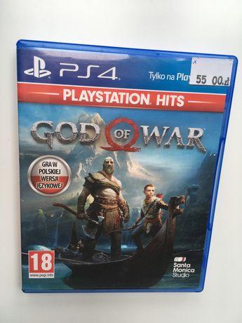 Gra god of war ps4 playstatnion 4 gad konsola