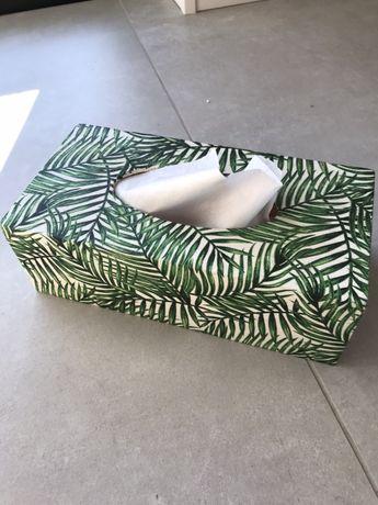 Pudełko, chustecznik drewniany decoupage - idealny na prezent