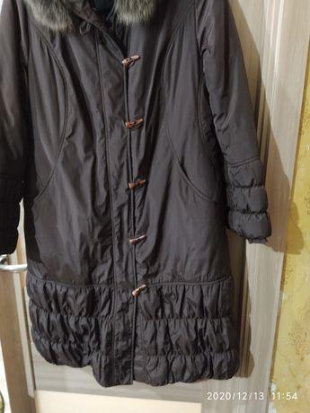Пальто зимнее женское р 56-58