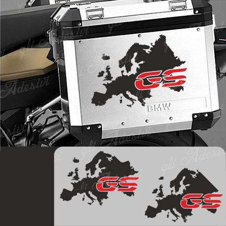 Autocolante Malas Mota BMW GS Europa (NOVO)