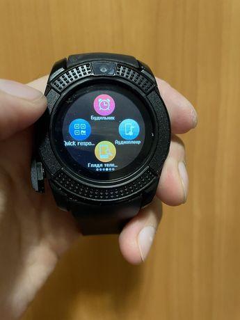 Новие смарт часы сенсорные умные Smart Watch V8 розумний