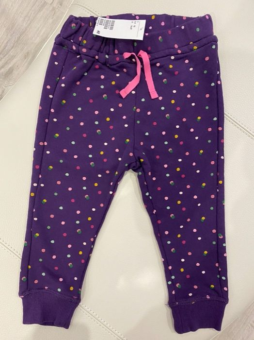 Брючки,штанишки, джоггеры H&M для девочки,размер 92 Хмельницкий - изображение 1