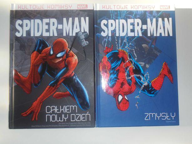 Spider-Man - Całkiem nowy dzień+Zmysły.Tom 1-2. Wyd.specjalne. Okazja!
