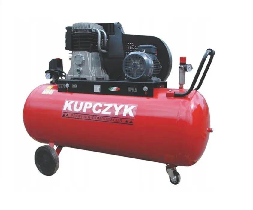 Kompresor Tłokowy Olejowy Pompa Sprężarka Kupczyk 606 l/m 270L Wysyłka Niepołomice - image 1