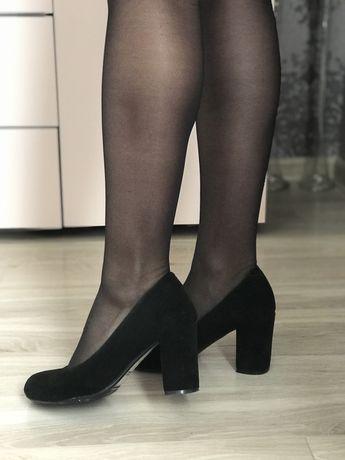 Туфли туфлі натуральний замш