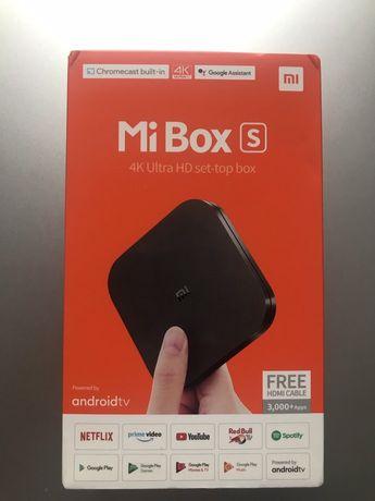 Xiaomi TV BOX S Mi Box 4K Smart TV HDR Android 8.1GWARANCJA