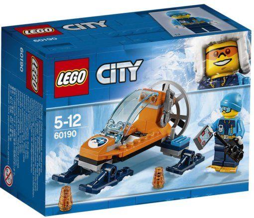 Конструктор Лего Сити (60190) — Арктика: ледяной глайдер