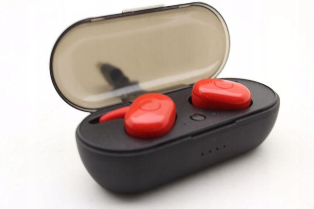 Słuchawki bezprzewodowe 5.0 wodoodporne z powerbankiem