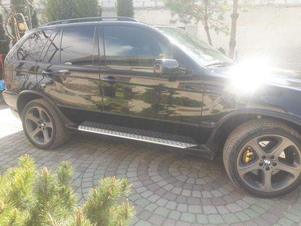 Акустика мідбасів BMW X5 E53