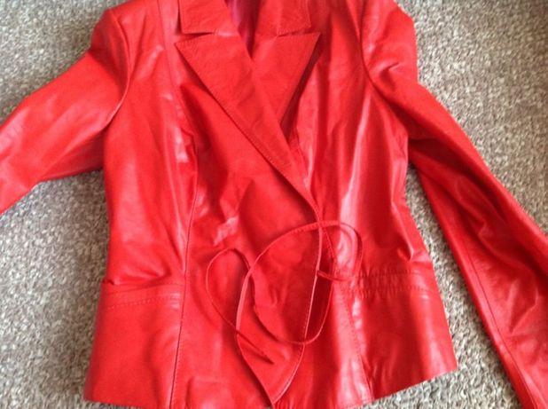 Пиджак жакет куртка натуральная кожа
